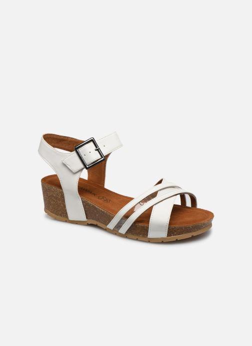 Sandales et nu-pieds Chattawak MEGAN Blanc vue détail/paire