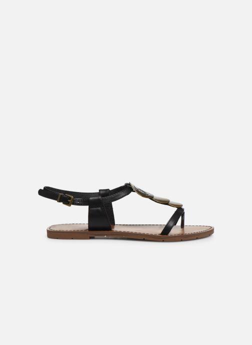 Sandalen Chattawak MELANIE schwarz ansicht von hinten