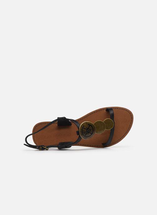 Sandalen Chattawak MELANIE schwarz ansicht von links