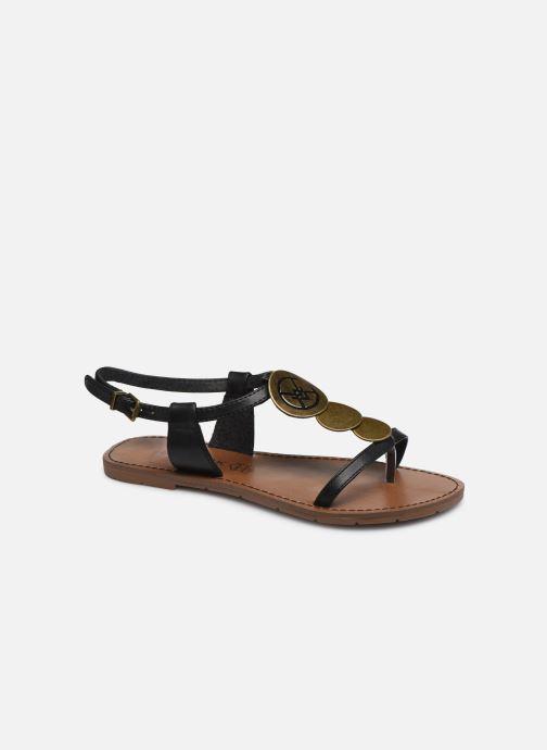 Sandalen Chattawak MELANIE schwarz detaillierte ansicht/modell