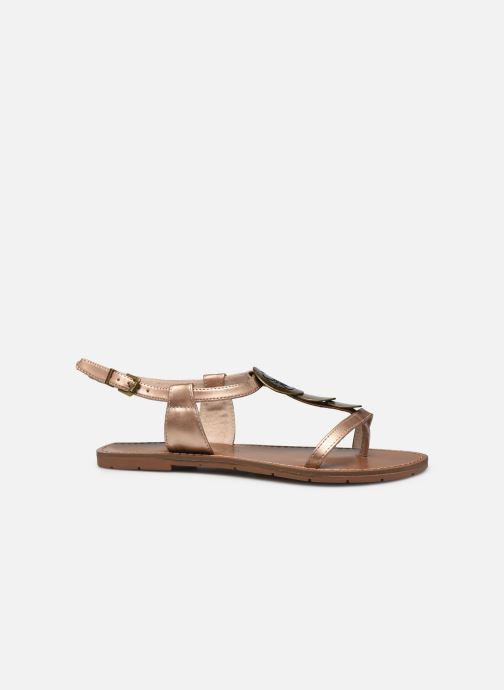 Sandals Chattawak MELANIE Bronze and Gold back view