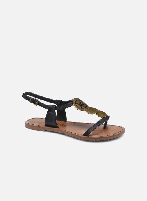 Sandales et nu-pieds Chattawak MELANIE Noir vue détail/paire
