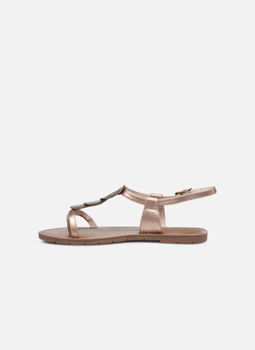 Sandales et nu-pieds Chattawak MELANIE Or et bronze vue face
