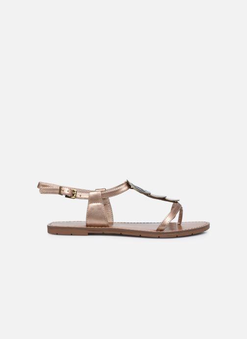 Sandales et nu-pieds Chattawak MELANIE Or et bronze vue derrière