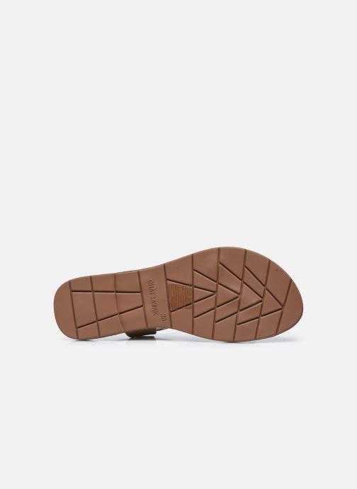 Sandales et nu-pieds Chattawak MELANIE Or et bronze vue haut