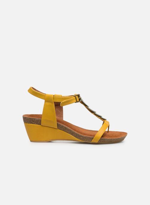 Sandales et nu-pieds Chattawak MILA Jaune vue derrière