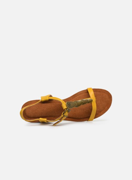 Sandales et nu-pieds Chattawak MILA Jaune vue gauche