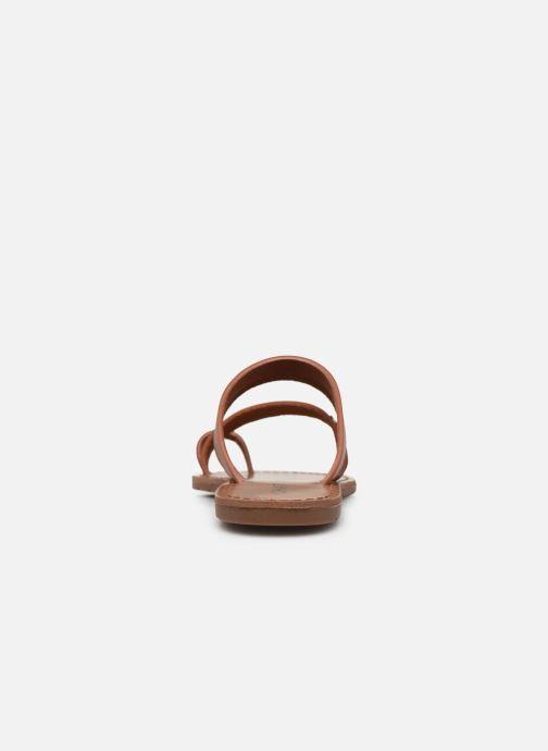 Sandales et nu-pieds Chattawak MISHA Marron vue droite