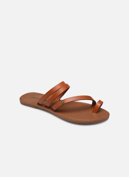 Sandales et nu-pieds Chattawak MISHA Marron vue détail/paire