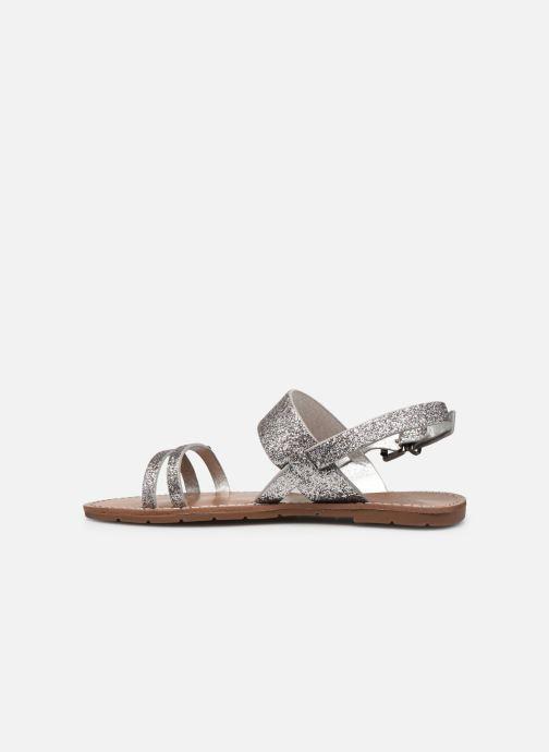 Sandales et nu-pieds Chattawak MONIA Argent vue face