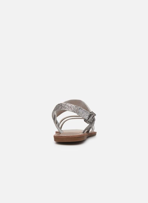 Sandales et nu-pieds Chattawak MONIA Argent vue droite