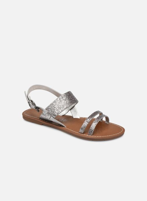 Sandales et nu-pieds Chattawak MONIA Argent vue détail/paire