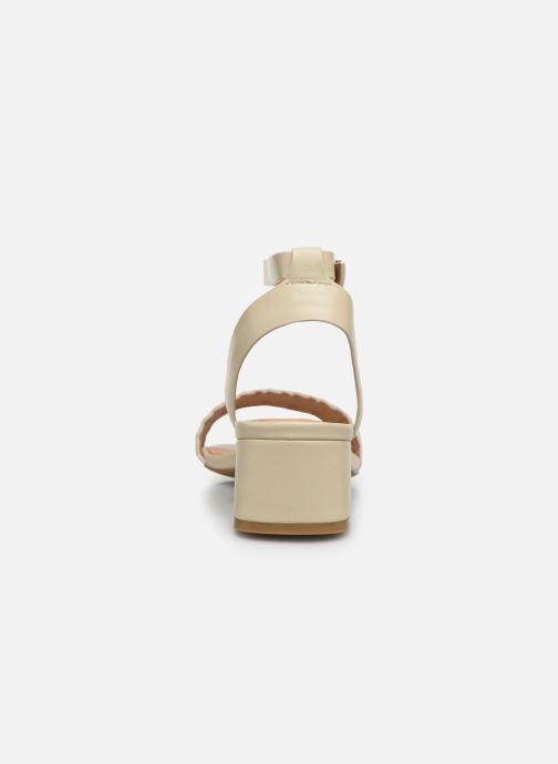 Sandales et nu-pieds Chattawak MUSCADE Beige vue droite