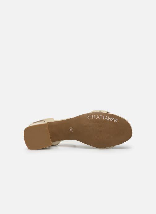 Sandales et nu-pieds Chattawak MUSCADE Beige vue haut