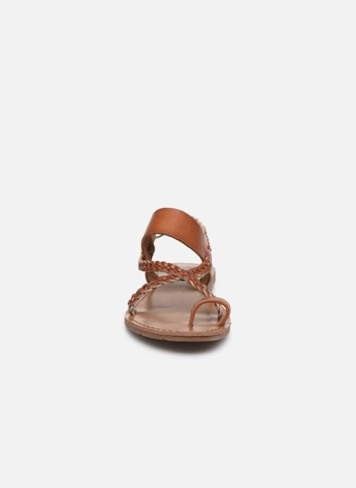 Sandals Chattawak OLYMPE Brown model view