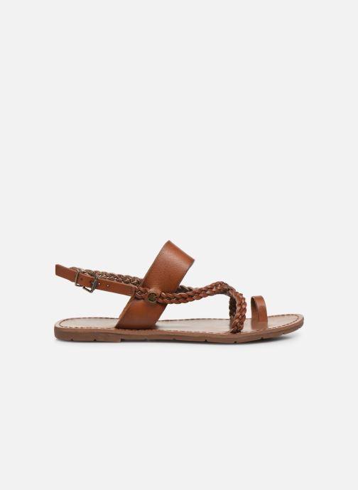 Sandales et nu-pieds Chattawak OLYMPE Marron vue derrière