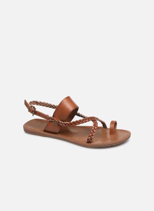 Sandales et nu-pieds Chattawak OLYMPE Marron vue détail/paire