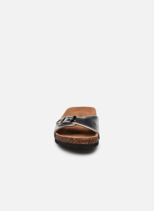 Mules et sabots Chattawak OPALINE Argent vue portées chaussures
