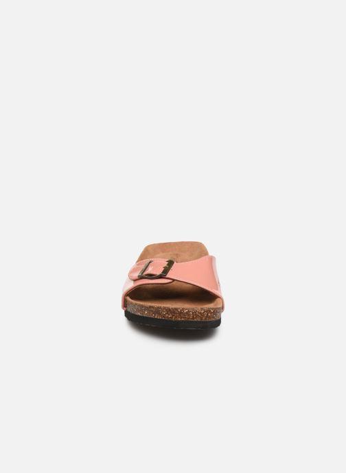 Mules et sabots Chattawak OPALINE Rose vue portées chaussures