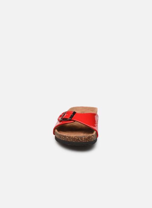 Mules et sabots Chattawak OPALINE Rouge vue portées chaussures
