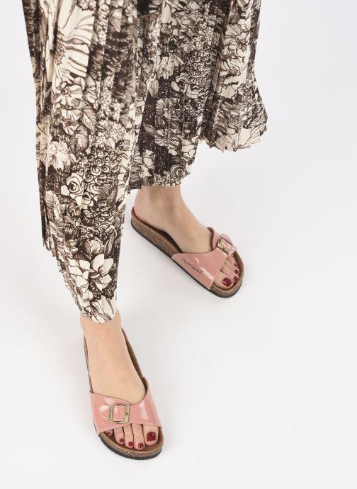 Clogs & Pantoletten Chattawak OPALINE beige ansicht von unten / tasche getragen