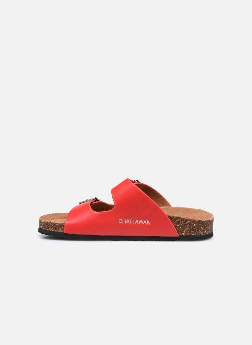 Clogs & Pantoletten Chattawak ORPHEE rot ansicht von vorne