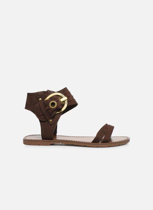 Sandales et nu-pieds Chattawak PACOME Marron vue derrière