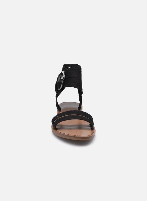 Sandales et nu-pieds Chattawak PACOME Noir vue portées chaussures