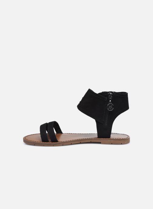 Sandales et nu-pieds Chattawak PACOME Noir vue face