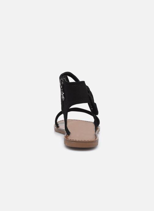 Sandales et nu-pieds Chattawak PACOME Noir vue droite