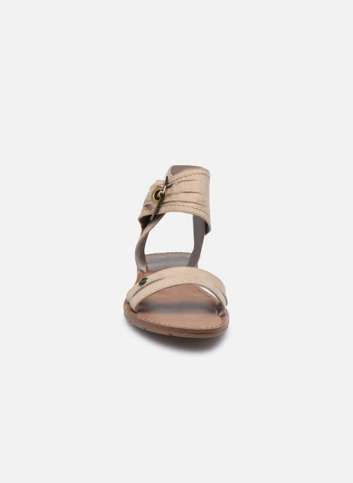 Sandales et nu-pieds Chattawak PACOME Beige vue portées chaussures