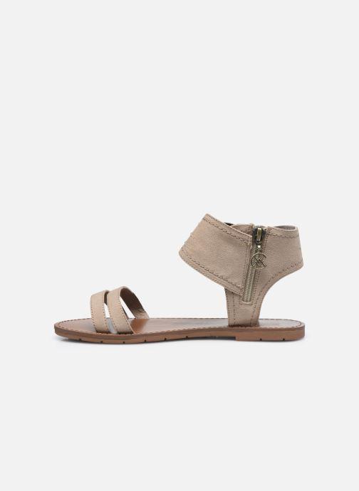 Sandales et nu-pieds Chattawak PACOME Beige vue face