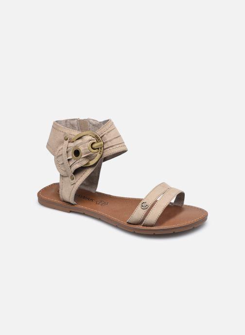 Sandales et nu-pieds Chattawak PACOME Beige vue détail/paire