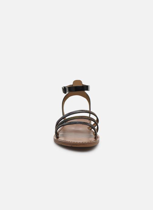 Sandales et nu-pieds Chattawak PAGO Noir vue portées chaussures