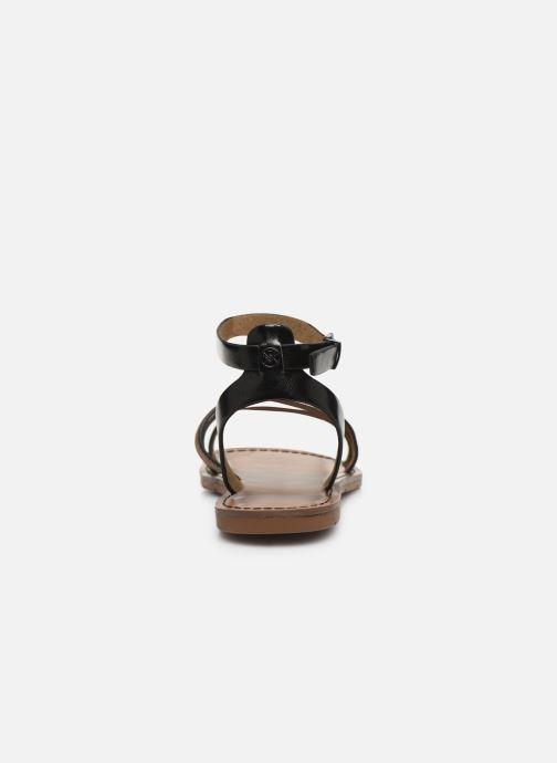 Sandales et nu-pieds Chattawak PAGO Noir vue droite