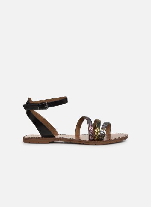 Sandales et nu-pieds Chattawak PAGO Noir vue derrière