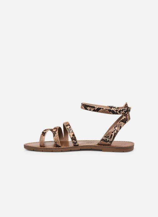 Sandales et nu-pieds Chattawak PAGO Marron vue face