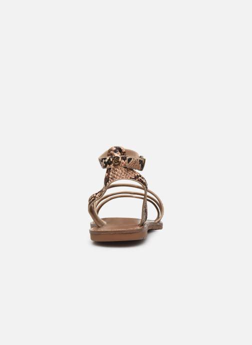 Sandales et nu-pieds Chattawak PAGO Marron vue droite
