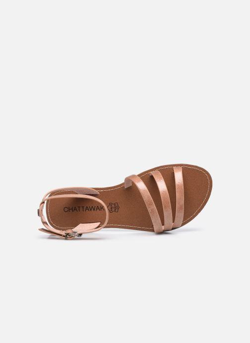 Sandali e scarpe aperte Chattawak PAGO Beige immagine sinistra