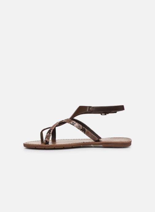 Sandali e scarpe aperte Chattawak PATOU Marrone immagine frontale