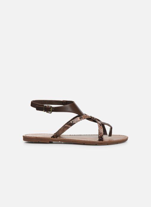 Sandali e scarpe aperte Chattawak PATOU Marrone immagine posteriore