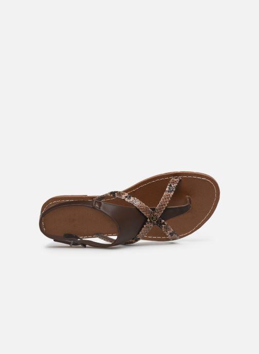 Sandali e scarpe aperte Chattawak PATOU Marrone immagine sinistra