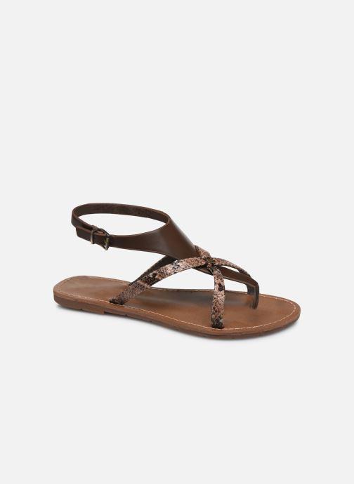 Sandali e scarpe aperte Chattawak PATOU Marrone vedi dettaglio/paio
