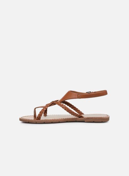 Sandalen Chattawak PATOU braun ansicht von vorne