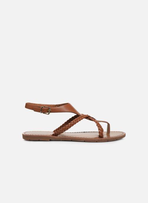 Sandalen Chattawak PATOU braun ansicht von hinten