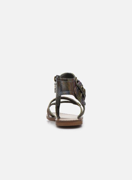 Sandales et nu-pieds Chattawak PENSEE Multicolore vue droite
