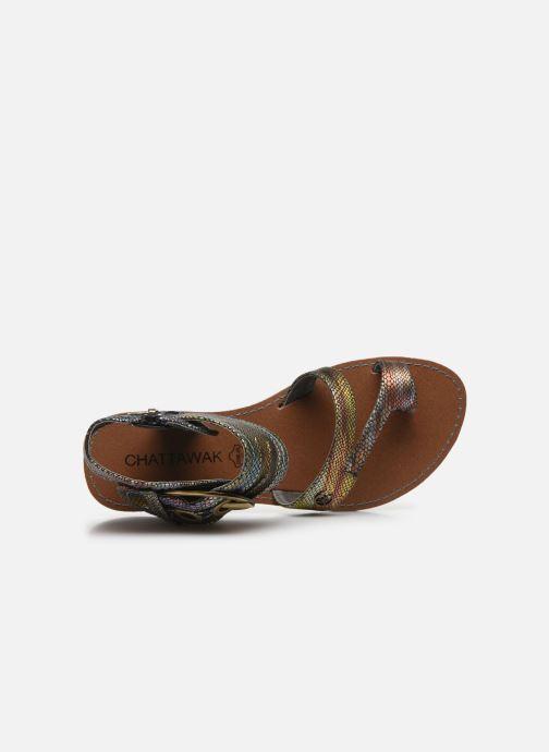 Sandales et nu-pieds Chattawak PENSEE Multicolore vue gauche