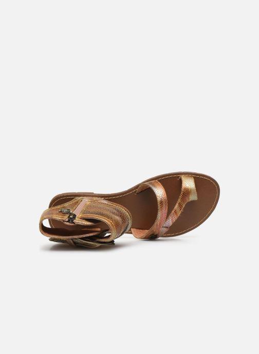 Sandales et nu-pieds Chattawak PENSEE Orange vue gauche