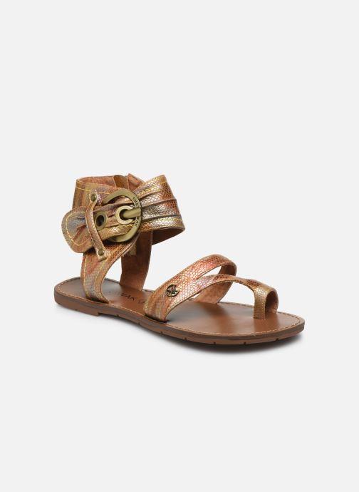 Sandales et nu-pieds Chattawak PENSEE Orange vue détail/paire