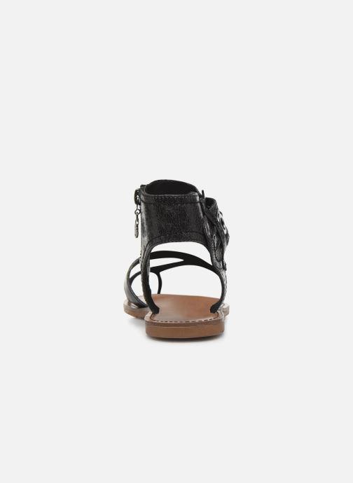 Sandales et nu-pieds Chattawak PENSEE Noir vue droite